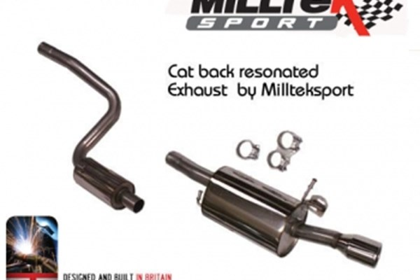 Fiesta ST150 Milltek Sport Cat Back Exhaust System - Resonated (Quieter).jpg