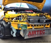 Focus ST250 Stage 3 Airtec Intercooler upgrade with full depth WRC style Air Scoop surround - Silver finish.jpg